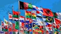 photo of world feature group of national flags